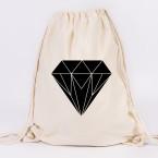 diamant origami turnbeutel