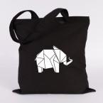 jutebeutel elefant origami
