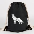 origami wolf turnbeutel