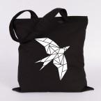 jutebeutel schwalbe origami