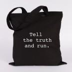 tell the truth and run jutebeutel