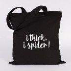 JUNIWORDS Jutebeutel i think i spider!