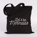 JUNIWORDS Jutebeutel Let's be mermaids