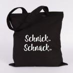 JUNIWORDS Jutebeutel Schnick. Schnack.