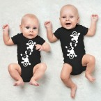 "JUNIWORDS Babybodies ""Äffchen"" 
