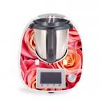 Aufkleber für Vorwerk Thermomix TM5 - Rosen
