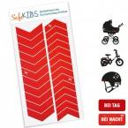 Reflektierende Sicherheitsaufkleber - SafeKIDS Arrow