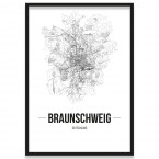 Poster Braunschweig Bilderrahmen