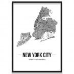 Stadtposter New York City
