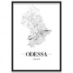 Stadtposter Odessa