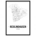 Poster Recklinghausen Bilderrahmen