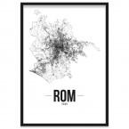 Stadtposter Rom Rahmen