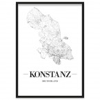 Stadtposter Konstanz Rahmen