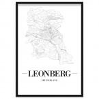 Stadtposter Leonberg Rahmen