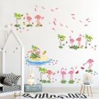 Wandsticker Mega Set - Flamingo