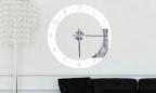 Wandtattoo Uhr - elegante Uhr