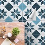 bodenfliesenaufkleber für küche und bad muster Arija