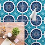 bodenfliesenaufkleber für küche und bad muster manni
