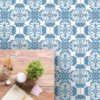 bodenfliesenaufkleber für küche und bad muster nina