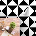 bodenfliesenaufkleber für küche und bad muster trigon