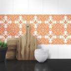 Muster Fliesenaufkleber Ani für die Küche