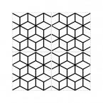 Fliesenaufkleber Cubes