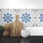 Muster Fliesenaufkleber Regina für die Küche und das Bad