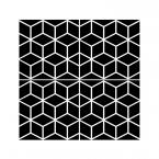 Fliesenaufkleber White Cubes