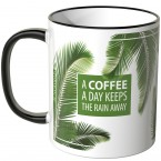 JUNIWORDS Tasse A COFFEE A DAY