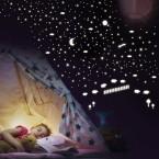Leuchtaufkleber Schäfchen zählen + Sonne, Mond und Sterne (295 Aufkleber)Leuchtaufkleber Schäfchen zählen + Sonne, Mond und Sterne