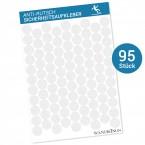 Anti-Rutsch-Sticker Punkte, 95 Stück