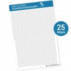 Anti-Rutsch-Sticker Streifen, 25 Stück