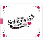Mousepad Beste Schwester - Motiv 4