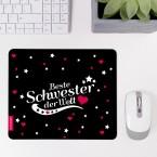 Mousepad Beste Schwester - Motiv 5