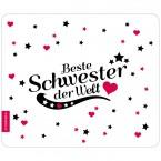 Mousepad Beste Schwester - Motiv 6