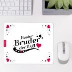 Mousepad Bester Bruder - Motiv 4