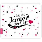Mousepad Beste Tante - Motiv 6