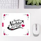Mousepad Beste Nichte - Motiv 4