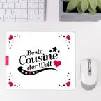 Mousepad Beste Cousine - Motiv 4