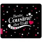 Mousepad Beste Cousine - Motiv 5