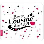 Mousepad Beste Cousine - Motiv 6