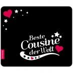 Mousepad Beste Cousine - Motiv 7