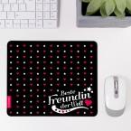 Mousepad Beste Freundin - Motiv 1