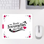 Mousepad Beste Freundin - Motiv 4