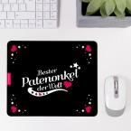 Mousepad Bester Patenonkel - Motiv 3