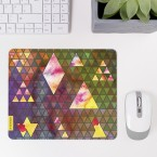 Mousepad Triangle Muster Pastell 1