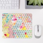 Mousepad Triangle Muster Pastell 2