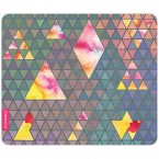 Mousepad Triangle Muster Pastell 3