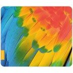 Mousepad Papagei-Gefieder 1