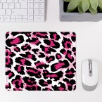 Mousepad Leopardenfell Pink
